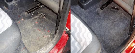 Čištění interiéru auta | Borač