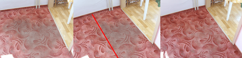 Čištění koberce   Tišnov - postup čištění