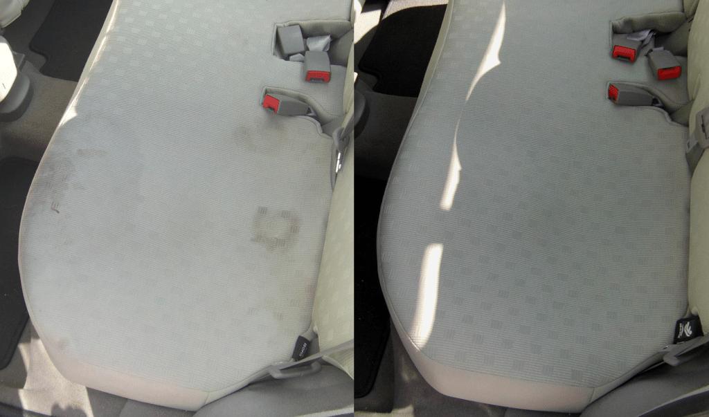 Čištění zadní sedačky auta | Tišnov