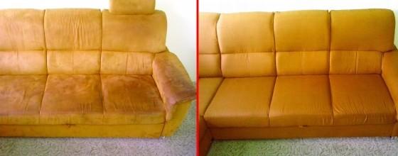 Čištění sedačky | Dolní Loučky
